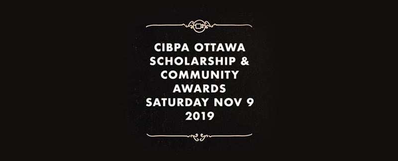 CIBPA Ottawa Scholarship & Community Awards